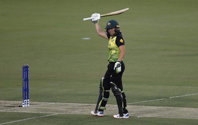 Alyssa Healy scored 83 runs