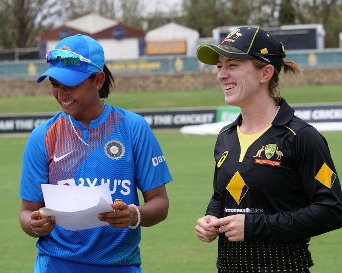 Australia women's Triseries Australia vs India
