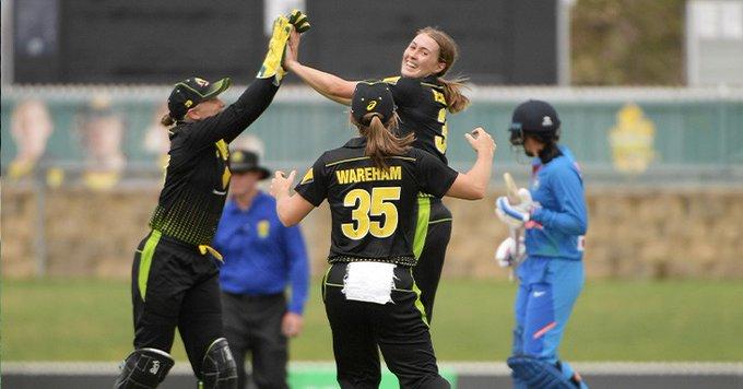 Australia womens triseries Australia vs India