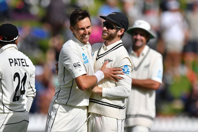 Boult along with captain Williamson