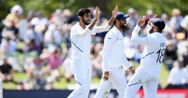 Bumrah picks two wickets in an over