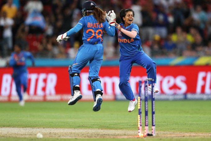 India win the match