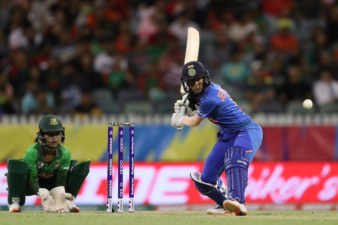 Jemimah Rodrigues run out moment