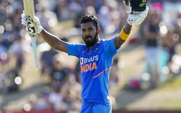 New Zealand vs Inadia 3rd ODI KL Rahul scored 112 off 113