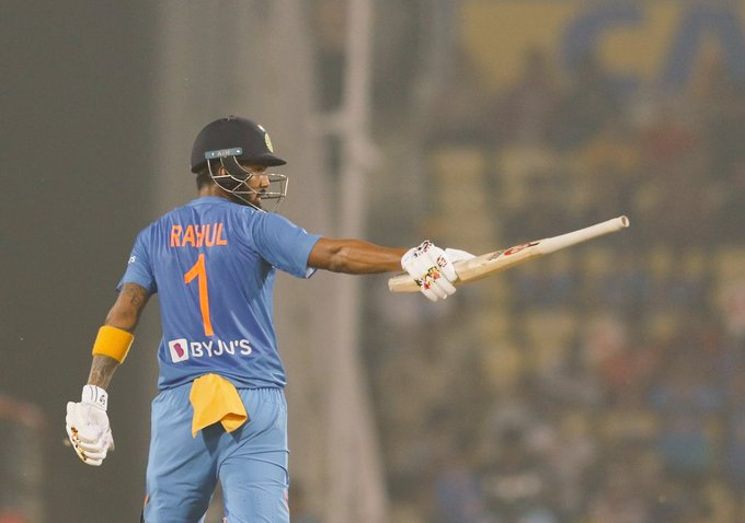KL Rahul's 4th ODI hundred