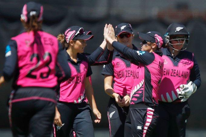 NZ celebrates after Bangladesh fold up for 40 runs