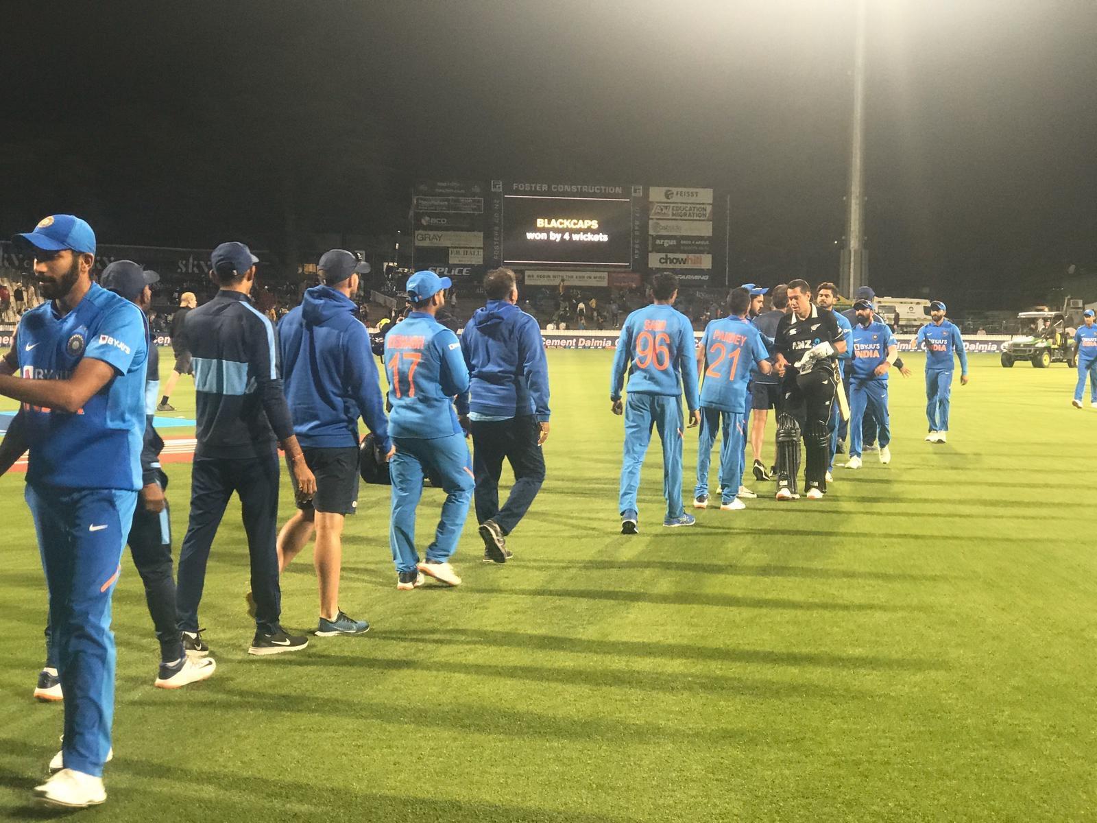 New Zealand Vs India 1st ODI at hamilton feburary 2020
