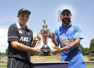 New Zealand vs India 2nd ODI of the series