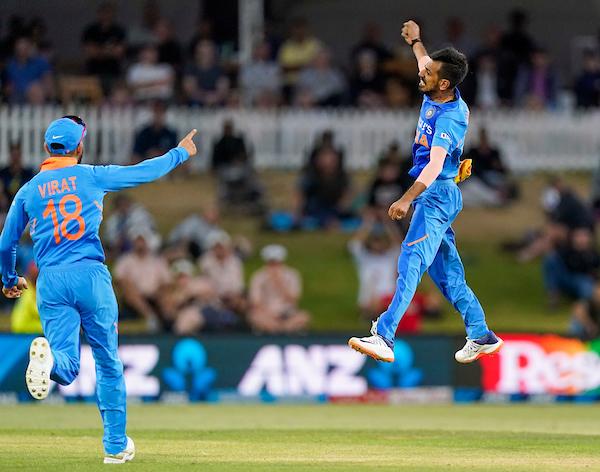 New Zealand vs India 3rd ODI Chahal's bowling performance