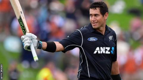 New Zealand vs India Ross Taylor Player of the tournament