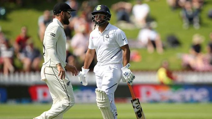 Pant got out in 2nd day of the test