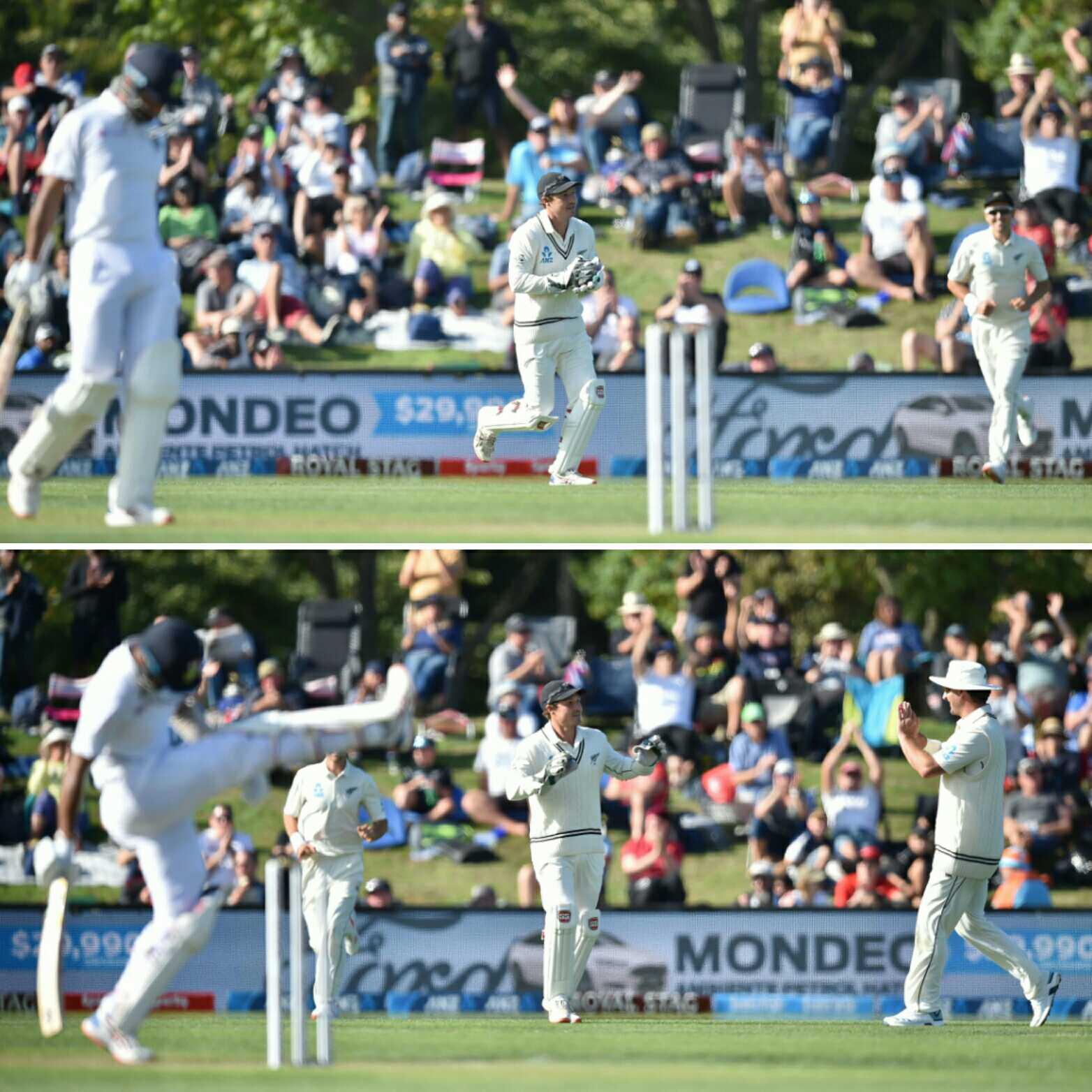 Pujara lose his control after his wicket
