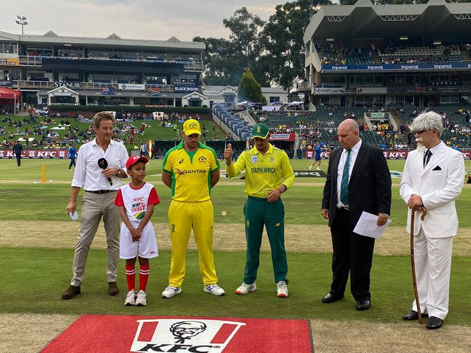 South Africa vs Australia toss