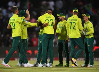 South Africa win the 1st T20I