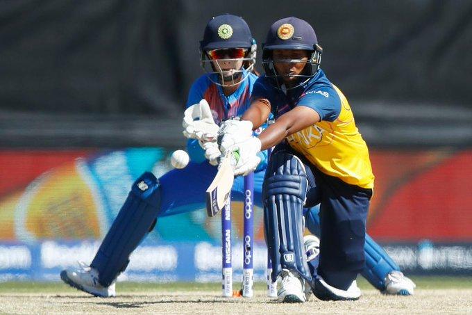 Sri Lanka struggled to score