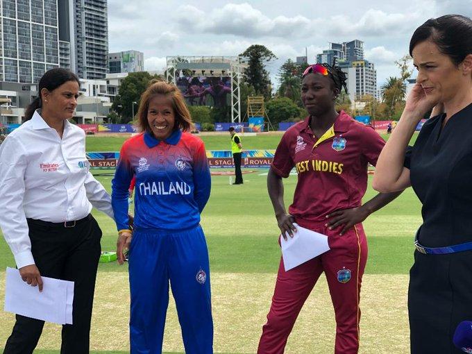 Toss between Thailand and West Indies