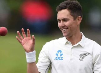 Trent Boult in test match