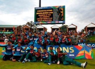 U19 worldcup India vs Bangladesh Bangladesh win the match