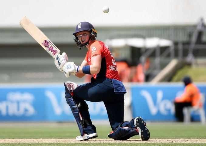 Womens Tri national series India vs England Knight won the Player of the match