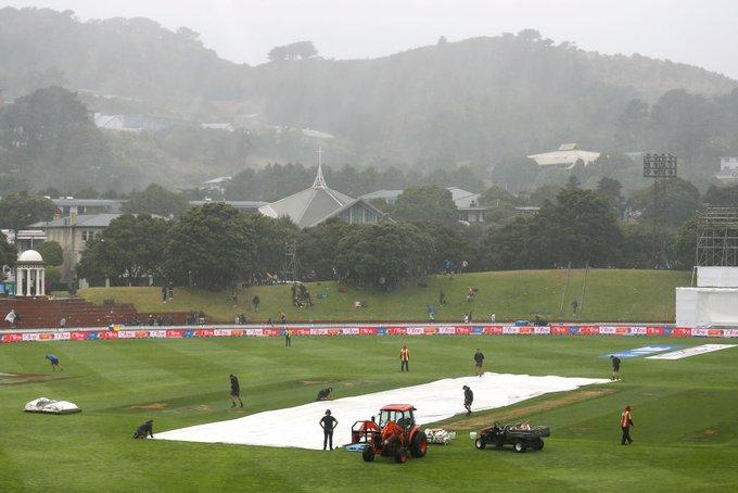 rain interrupt 1st test