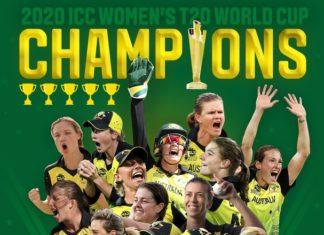 Australia won the trophy