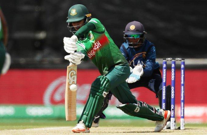 Bangladesh struggled to score