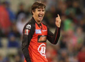 Brad Hogg points Rohit Sharma as the only person capable to score double ton in T20 format