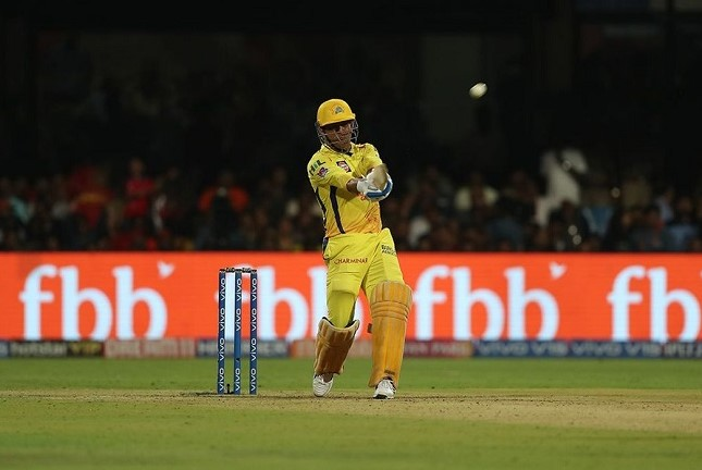 Dhoni in IPL 2019