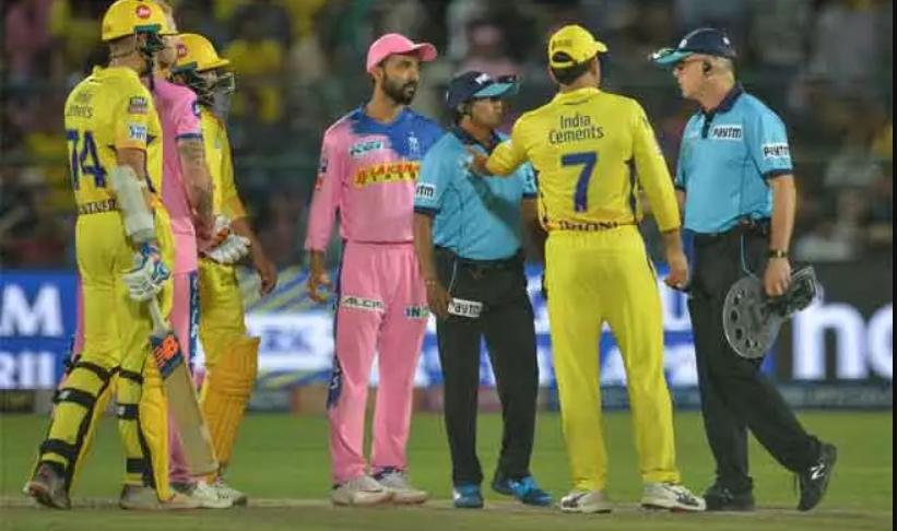 Dhoni's IPL controversy
