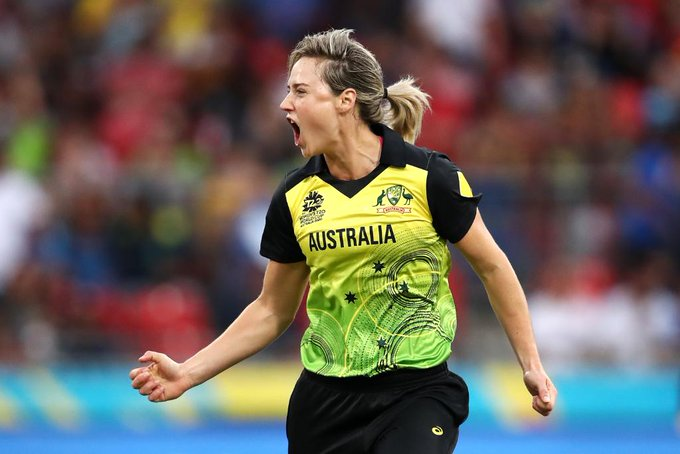 Ellyse Perry in T20I worldcup