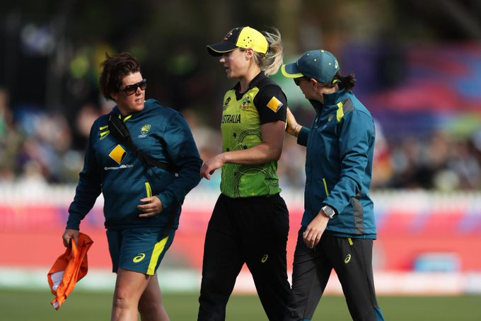 Ellyse Perry ruled out