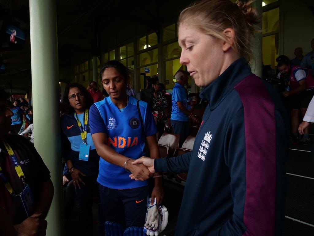England vs India womens T20I world cup