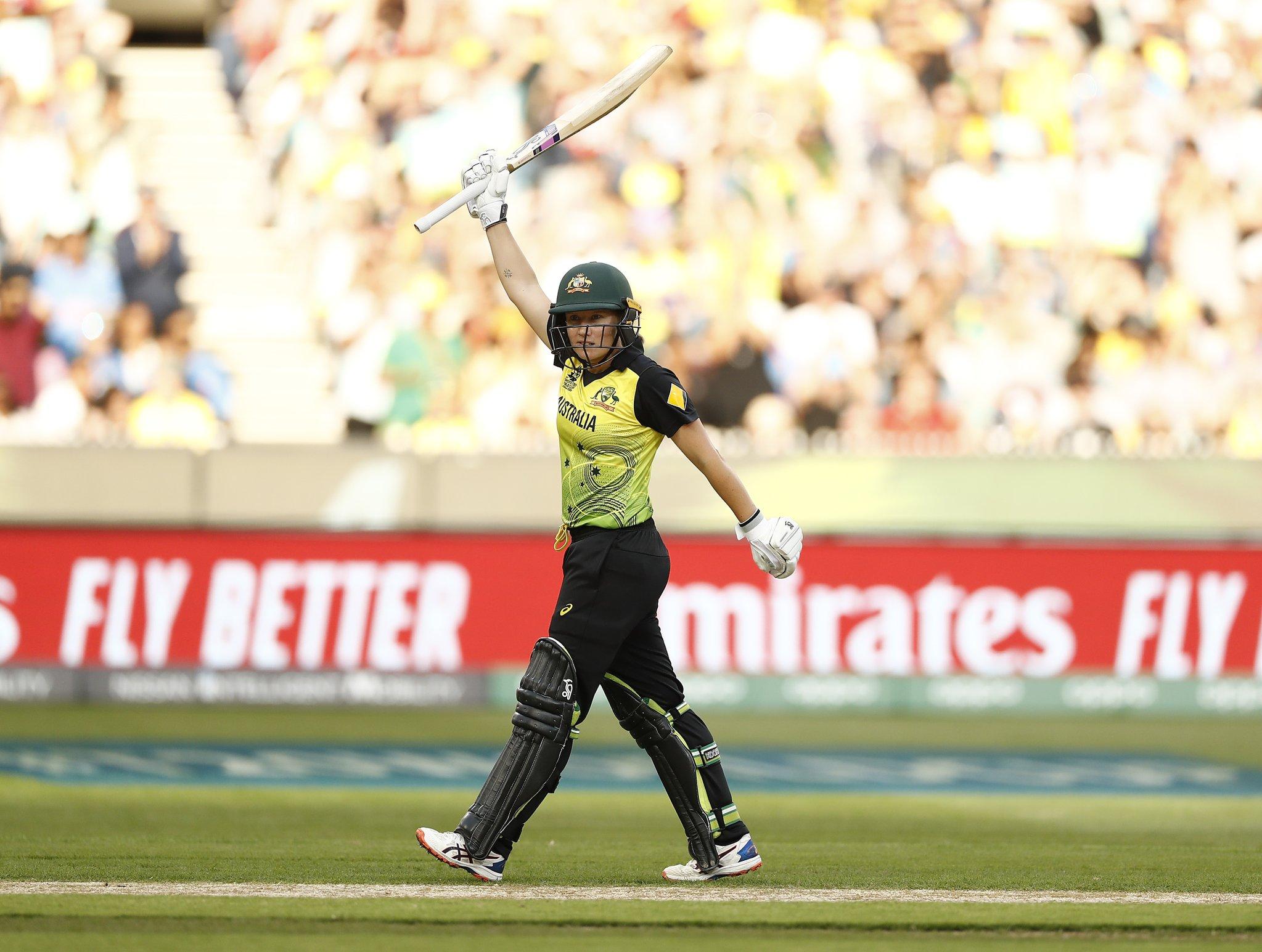 Healy scored 75 runs