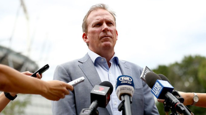 Kevin Roberts- Cricket Australia chief executive