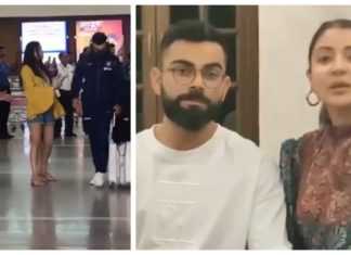 Kohli ignores a fan approached for a selfie
