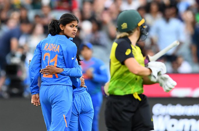 Radha Yadav dismissed Healy