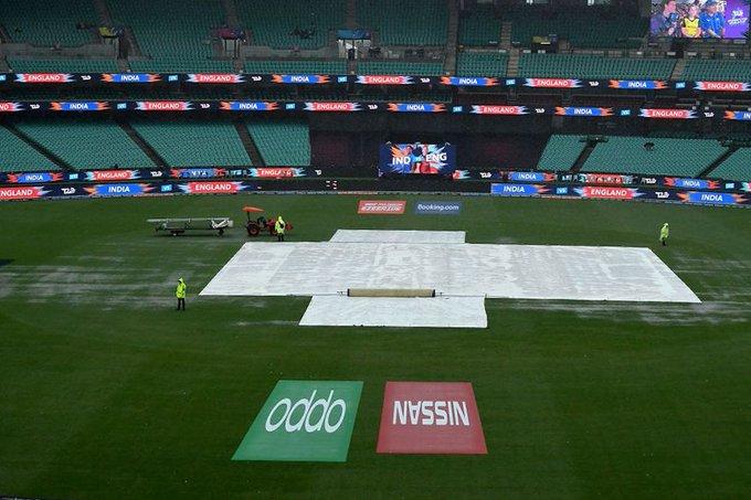 Rain abandoned match