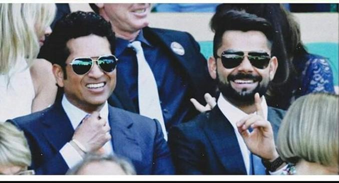 Sachin and Kohli