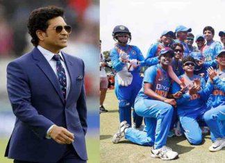 Sachin wishes Indian women's team