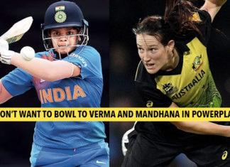 Schutt regards Indian female openers