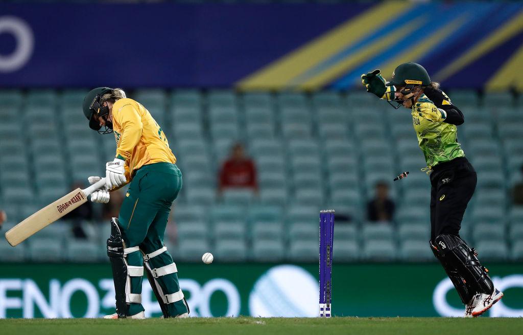 South Africa struggled to score
