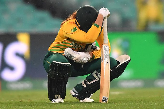 South Africa women's lost the semi final