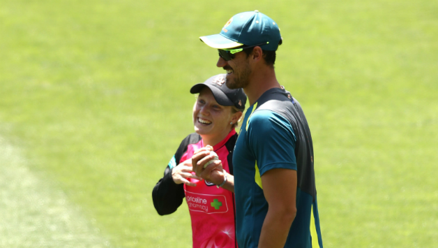Starc and Healy
