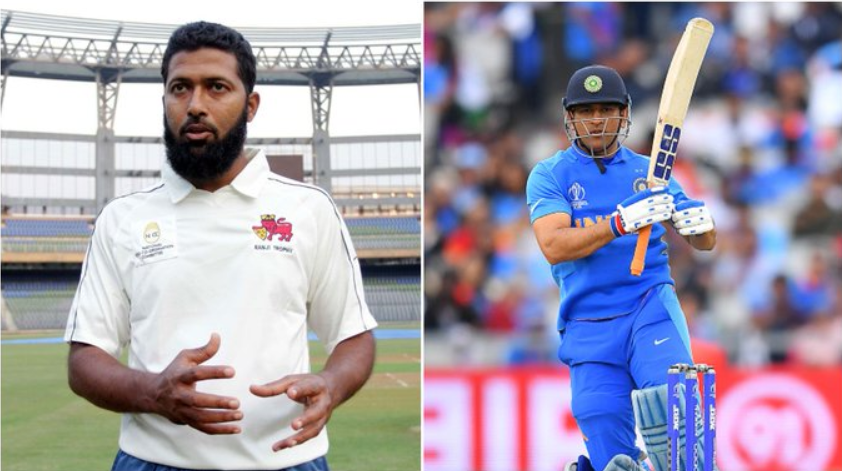 Wasim Jaffer opines that team management shouldn't overlook MS Dhoni for the T20 World Cup if he is fit and in form
