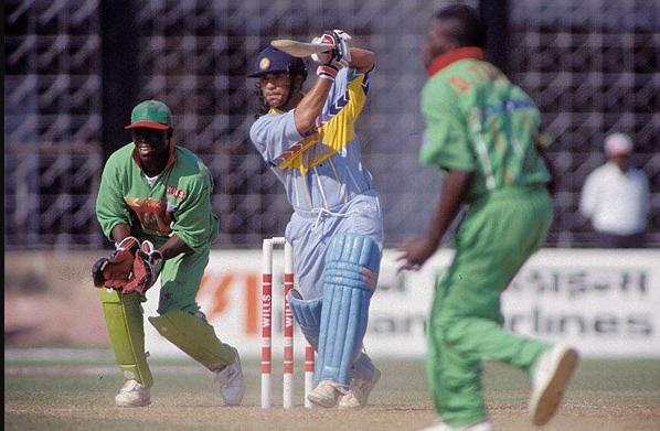 Sachin Tendulkar scored 140 v Kenya in World Cup 1999