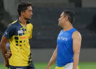 Sai Kishore recalls his moments with MS Dhoni