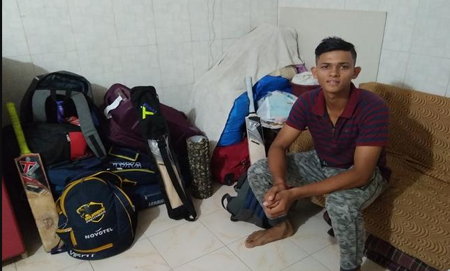 U19 cricketer Yashasvi Jaiswal