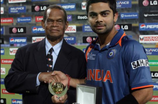 Virat Kohli in 2009 Champions trophy