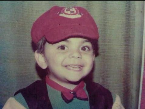 Virat Kohli in Childhood