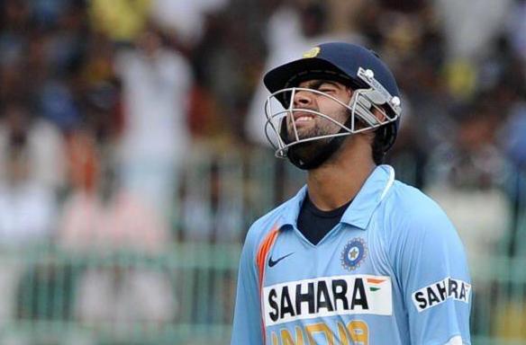 Virat Kohli in International debut match